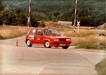 Golf 1 GTI Bielefeld Quelle Slalom 80er