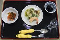 山菜尽くしの天ぷら