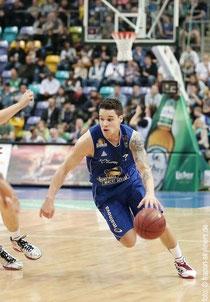 Konstantin Klein während eines Basketballspiels