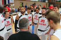 Die österreichische Basketball-Nationalmannschaft