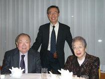 帯津先生(左)・佐藤初女さんと