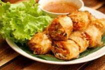 halal goi cha gio, halal vietnamese spring rolls