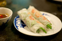 halal goi cuon, halal vietnamese spring rolls