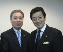 松本代表、アチーブメント青木社長
