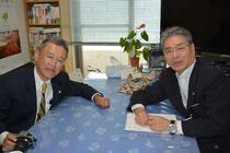 ㈱エイム福地社長と松本代表