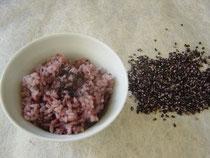 白馬の紫米