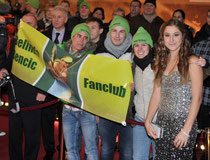 Belinda mit ihren Fans