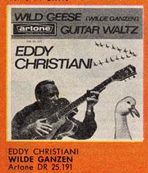 Eddy Christiani Wild Geese Wilde Ganzen Guitar Waltz