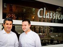 Bruno en Piso van restaurant Classico Amsterdam, foto: de footograaf.nl