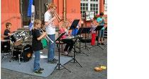 Junior Band der KMSO  foto  MANFRED HORZ