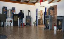 Cybulla Ausstellung von Kamine, Kachelöfen, Heizkamine, Heizöfen Öfen Waldkirch