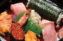 自慢の一品「特上寿司」もどうぞ!