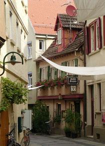 Küblergasse, old town Bad Cannstatt