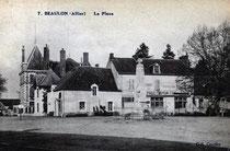 Beaulon, la place