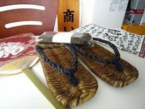 今回買った竹草履