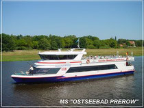 """Boddenrundfahrten mit MS """"Ostseebad Prerow"""""""