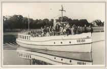 "MS ""HEIDI"" um 1950 nach Umbau"