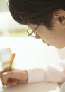 生徒が勉強する様子