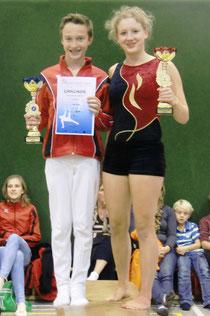 Vereinsmeister 2013: Aaron Csok, Laura Schuck