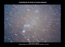 Orión en trazos estelares