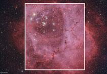 Acercamiento Nebulosa Roseta
