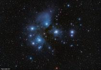 Cúmulo estelar Las Pléyades