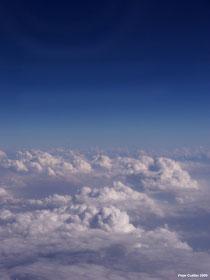 Paisaje de nubes desde un avión