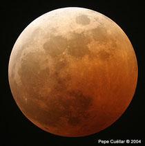 Eclipse lunar de Octubre del 2004