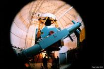 Telescopio reflector de 2.12m del observatorio de la UNAM