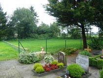 Neue Fläche am Friedhof