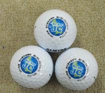 吉川印刷、奥田社長よりの依頼で作成した。吉川JCのゴルフボールです。