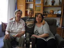 Irene Elbers, André + Mama Sabine