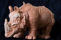 rhino en travail