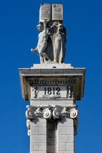 Monumento a la Constitución, en Cádiz/ ©Emilio Castro