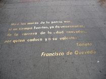 Versos de la Calle Huertas en el Barrio de las Letras. (CC) Pablo Sánchez