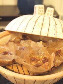 土鍋蒸しパン