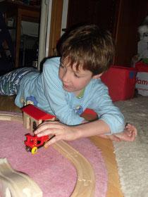 Elijah playing