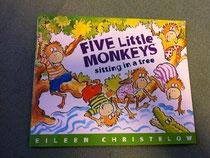 Five Little Monkeys sitting in a tree(CD付き)