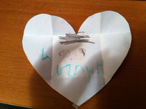 Happy Valentine! mommyとかきました