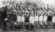Die Mannschaft des SC Mannswörth 1920/21
