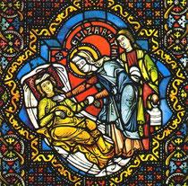 Kirchenfenster von 1250 Marburg