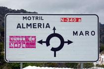 Maro, Nerja, Cuevas, La Herradura