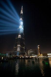 Stars unter Sternen: Die Starnacht 2012 verspricht musikalische Highlights vor dem höchsten Gebäude der Welt