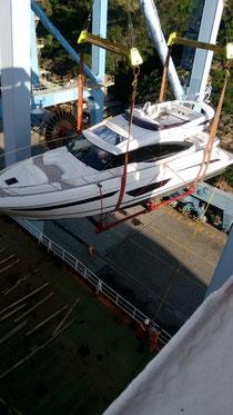 Die unentladbare Yacht