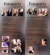 Flyer Fotoparty