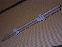 布を巻いてある紙の芯をもらってきました~。 (*^_^*) これ、すごく強くてとても使える!