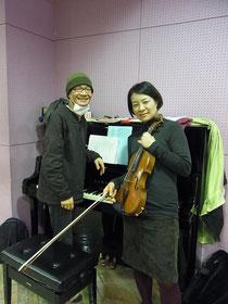 ピアノ*加藤文生さん&ヴィオラ*田中景子さん