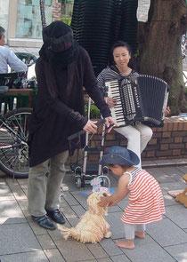 2010年*5月自由ヶ丘マリ・クレール祭りにて
