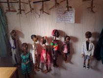 英国の人形劇学校の稽古用のマリオネット達☆