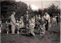 25- jähriges Jubiläum 1956 mit Sommerfest
